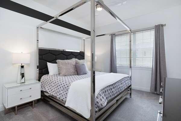 Modern king bedroom