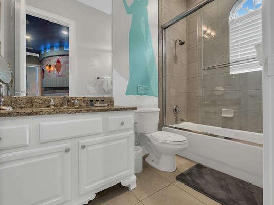 The royal ensuite bathroom