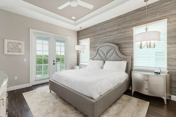 Luxurious Upstairs Master Suite
