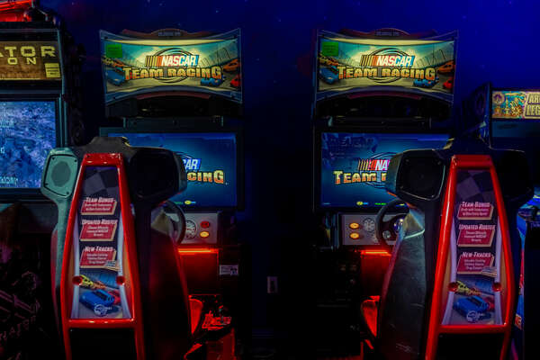 Show off your driving skills on the racing arcades