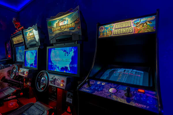 Adults will enjoy the classics on the multi-arcade