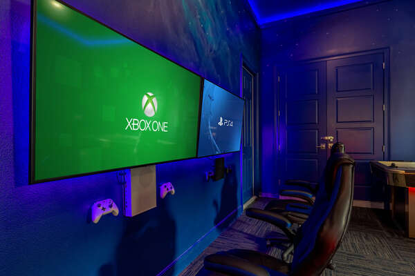 Bring some of your favorite games to play on the Xbox or Playstation 4