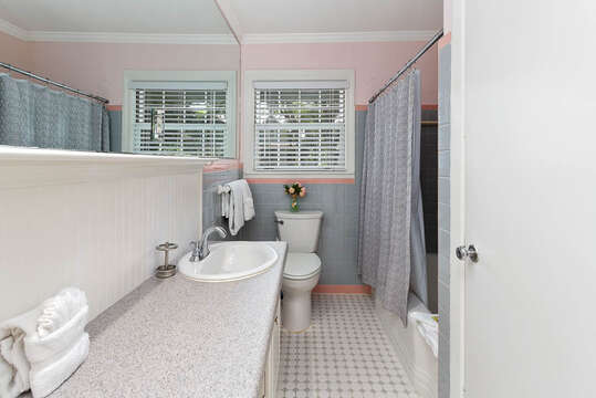 Full Bathroom with Plenty of Counter Space