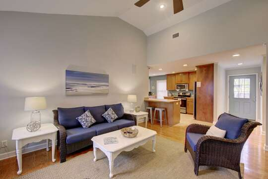 Enjoy an Open Floor Plan in Vacation Rental.