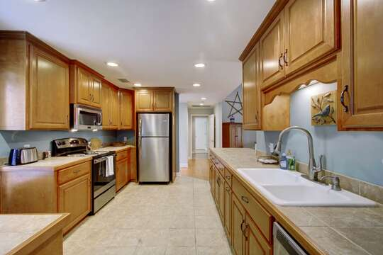 Enjoy Upgraded Appliances in Kitchen.