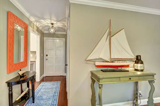 An Image of the Entry Way in Vacation Rental.