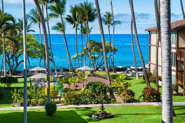 View from this Kona Hawaii vacation rental