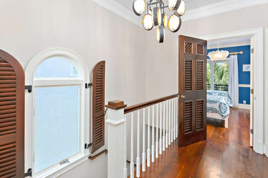 Hallway Leading to Staircase in Property.