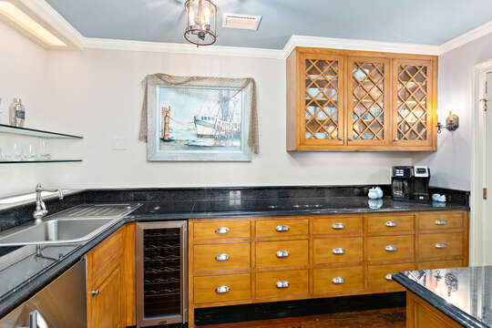 Luxury Kitchen Includes Plenty of Counter Space.