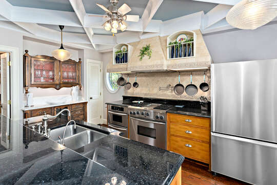 Enjoy a Luxury Kitchen in St Simons island Oceanfront Rental.