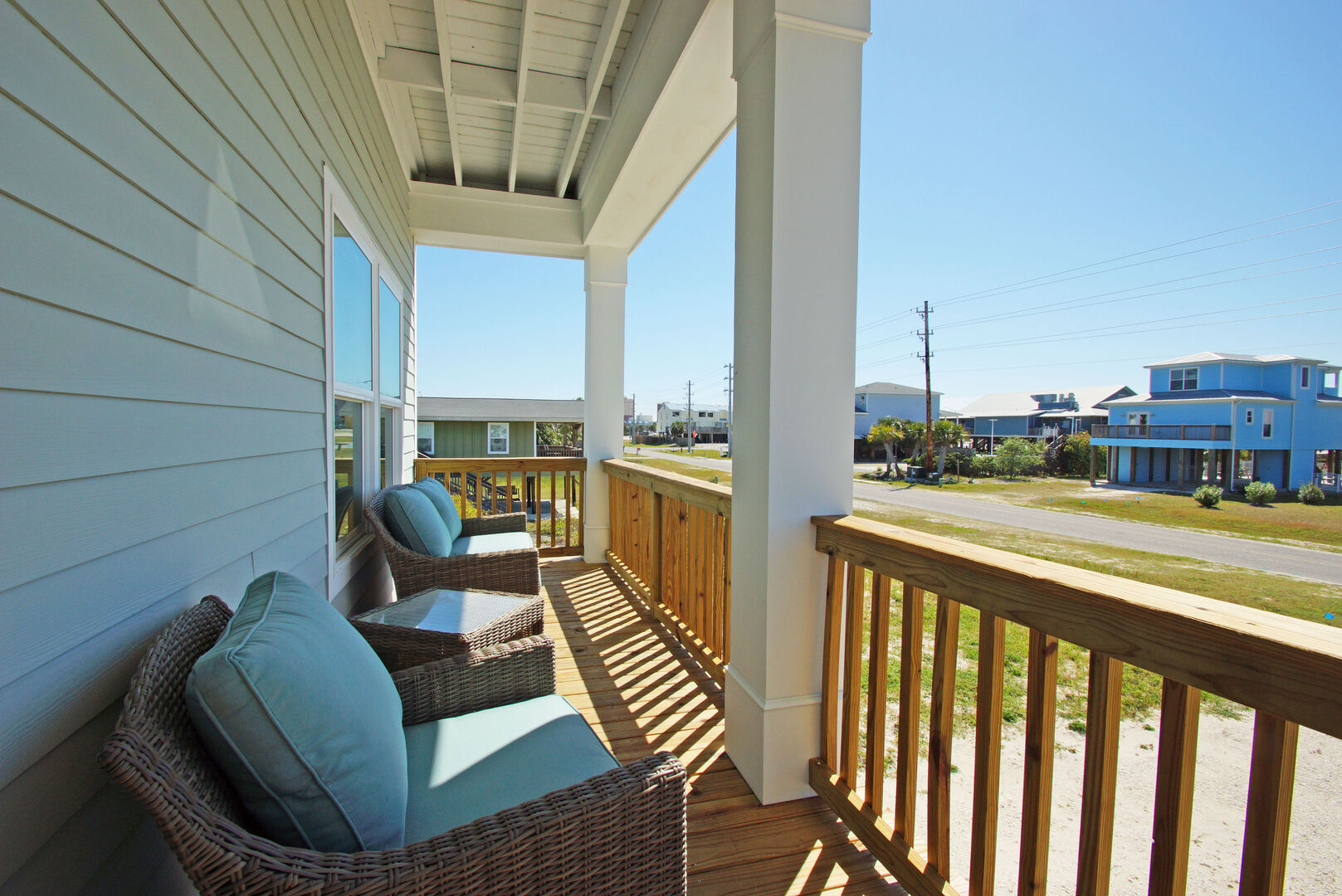 Seating on Outdoor Porch
