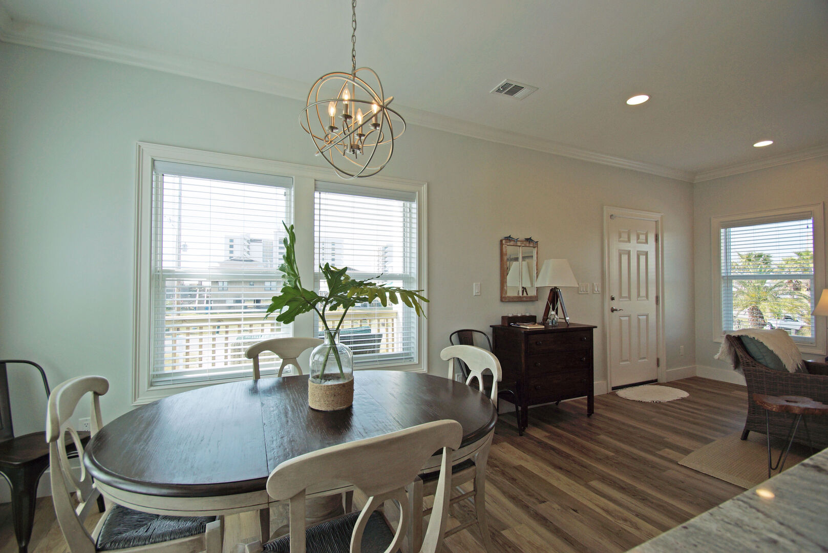Dining Area with Dining Table seating for four