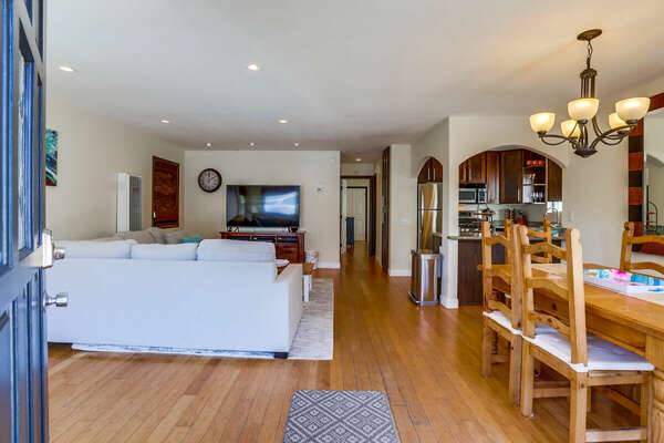 Open Floor Plan Interior