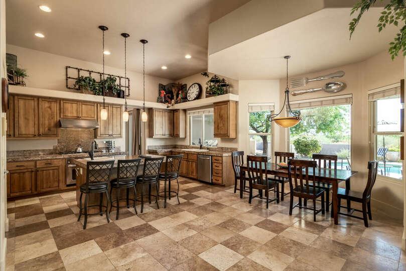 Kitchen Long View