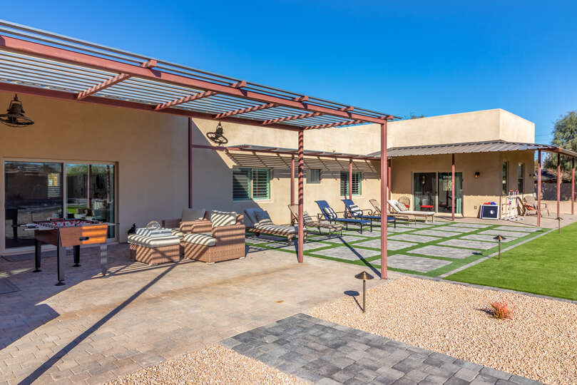 Large Patio and Backyard Offers Plenty of Outdoor Space.