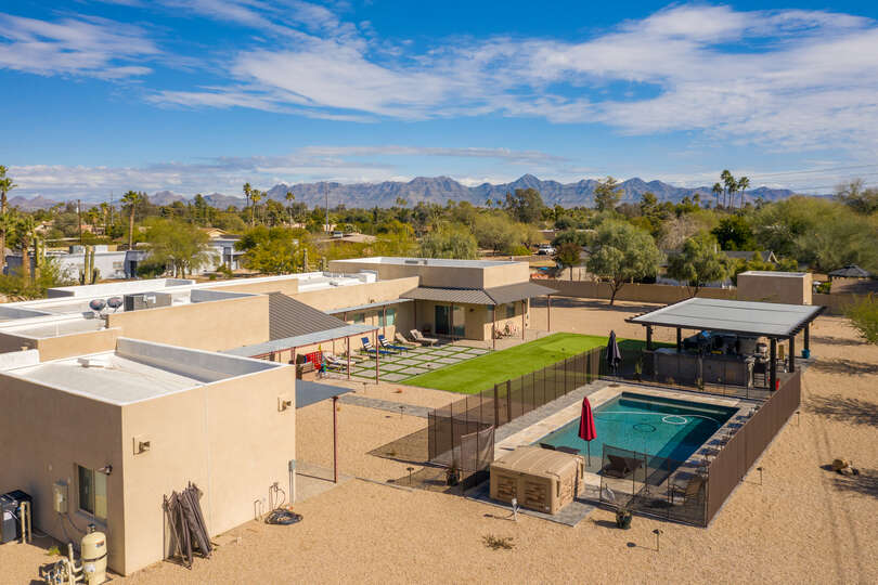 Image of Luxury Rental in Scottsdale and All of it's Features.
