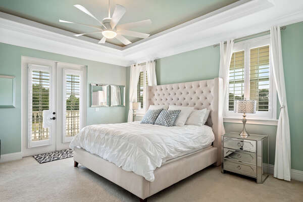 The second master bedroom