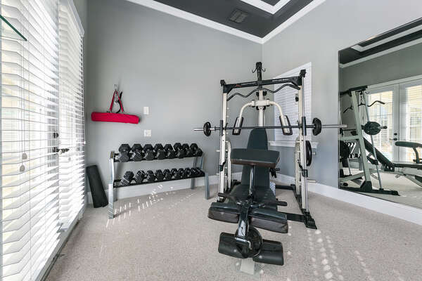 Continue you workouts while on vacation
