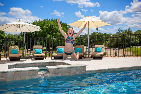 You'll be jumping for joy when your family books this vacation home!