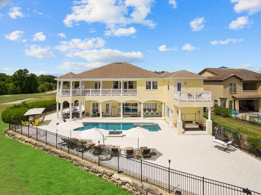 Large Vacation Rentals In Florida With 7 15 Rooms Magical Vacation Homes