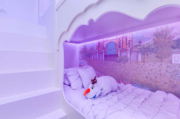 Little details will make your princess's slumber feel especially royal
