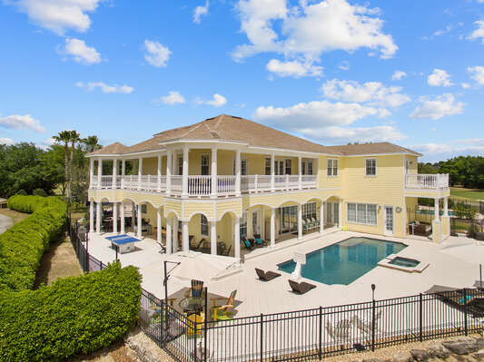 Have fun during your vacation in your own private resort like Estate Home which spans over 8,200 sq. ft. of land