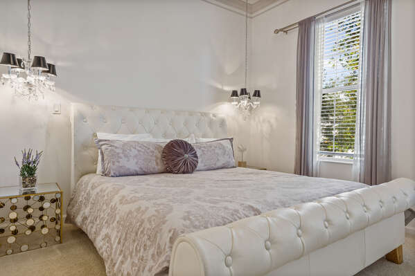 Have a great slumber in this master bedroom