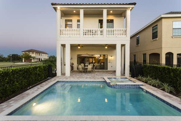 A luxury rental