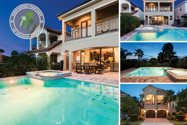 Welcome to Fairway Family Getaway, a beautiful 6 bedroom vacation rental in Reunion Resort. | PHOTOS TAKEN: February 2017