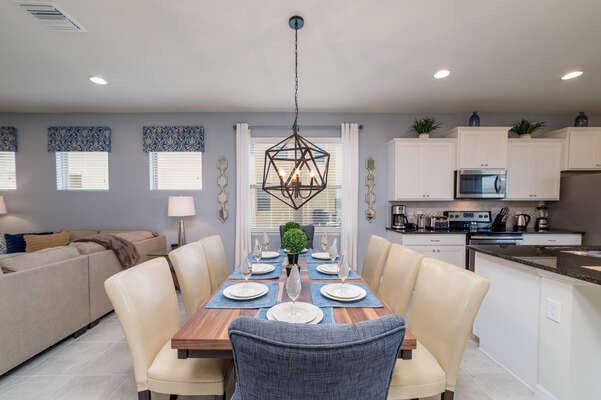 Get together in luxurious seating and enjoy a delicious meal