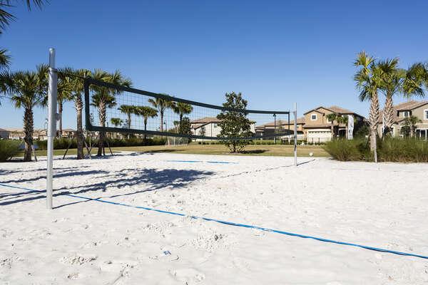 Windsor at Westside resort beach volleyball court