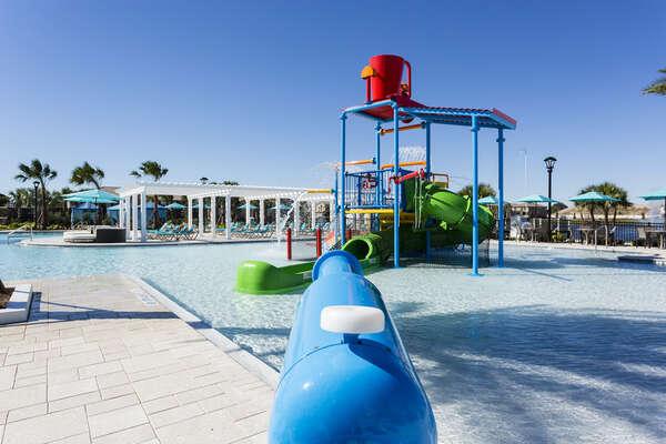 Splash pad at Windsor at Westside resort