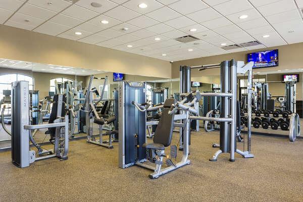 Windsor at Westside fitness lounge