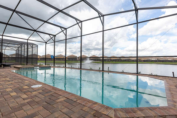 Unbeatable views from your pool