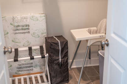 Baby Pack N Play and  High Chair