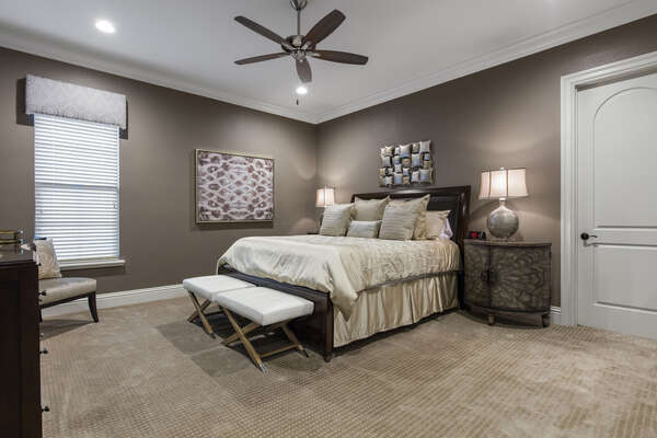 Master Suite #12 is a spacious King bedroom with an ensuite bathroom