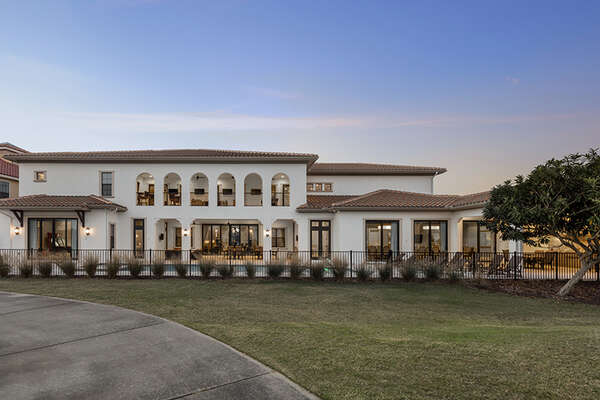 This luxurious home is perfect to host large get togethers, family reunions or corporate retreats