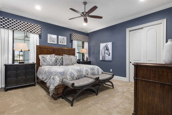 Master Suite #7 with a King bed and gorgeous design located on the second floor