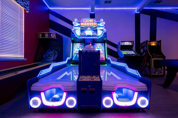 Challenge your family and friends to a fun game of Lane Master