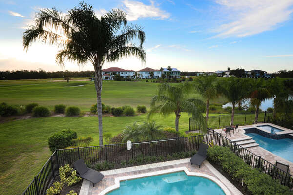 Unbeatable views of gorgeous Reunion Resort and the Jack Nicklaus Tradition Golf Course