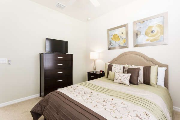 Sleep comfortably throughout your stay