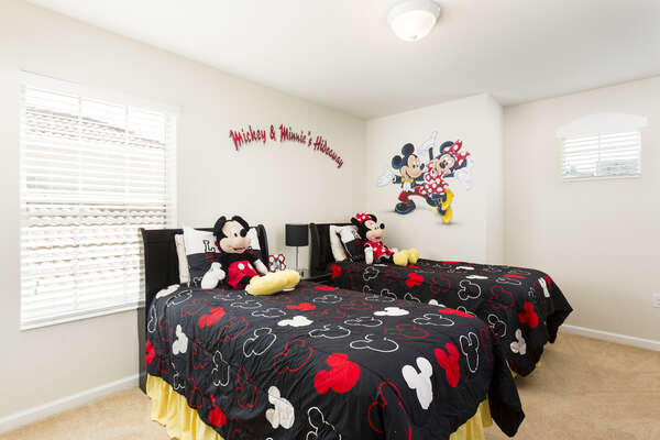 A custom bedroom perfect for the little ones