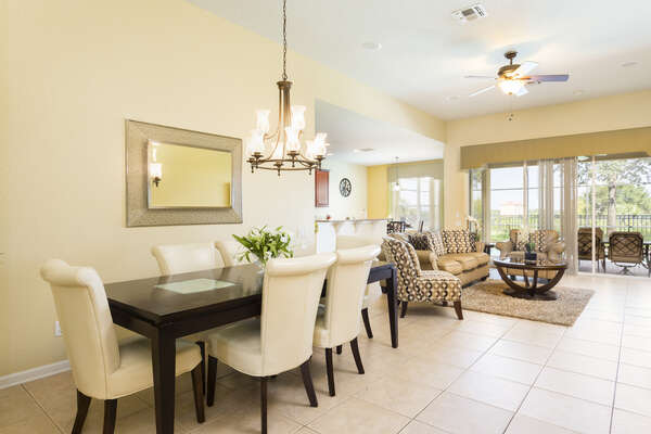 This home has an open layout to easily entertain your guests