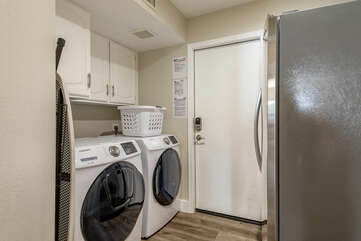 Laundry Room with a 2nd Refrigerator