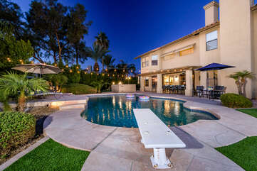 Incredible heated pool (seasonal) and outdoor paradise!