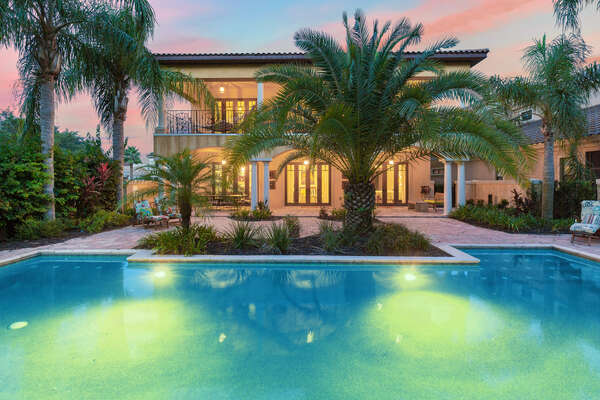 Come home to this gorgeous 4 bedroom vacation home