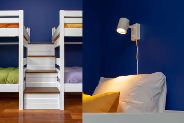 Each bed has it's own individual light