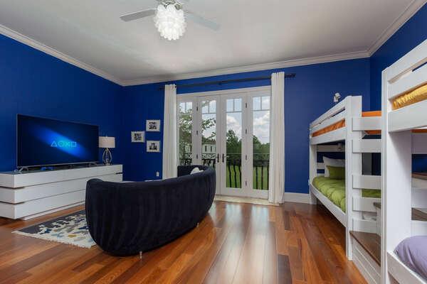 Kids will love having their own fun bedroom