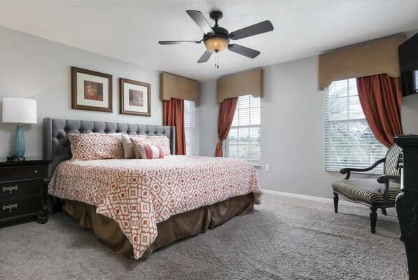 Come home to complete comfort with this upstairs bedroom