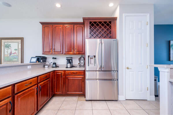 Lots of space to make delicious family meals
